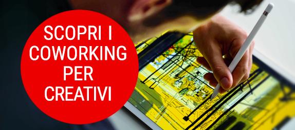 contatto coworking per creativi