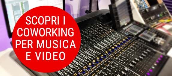 contatto coworking per music e video maker